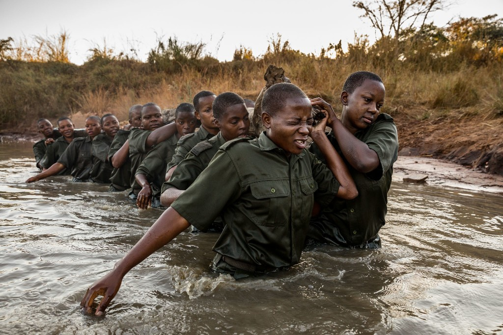 Why Zimbabwe's female rangers are better at stopping poaching