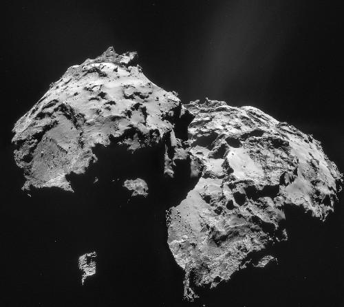 Rosetta Spacecraft, First to Orbit Comet, Finds Surprises Aplenty