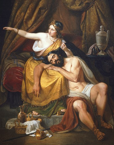 Was Samson's true weakness his hair or Delilah?