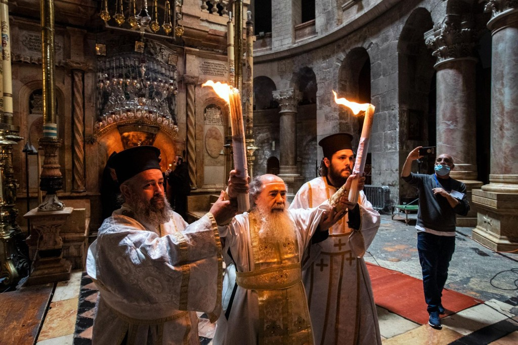 How a sacred flame spreads across the world despite the pandemic