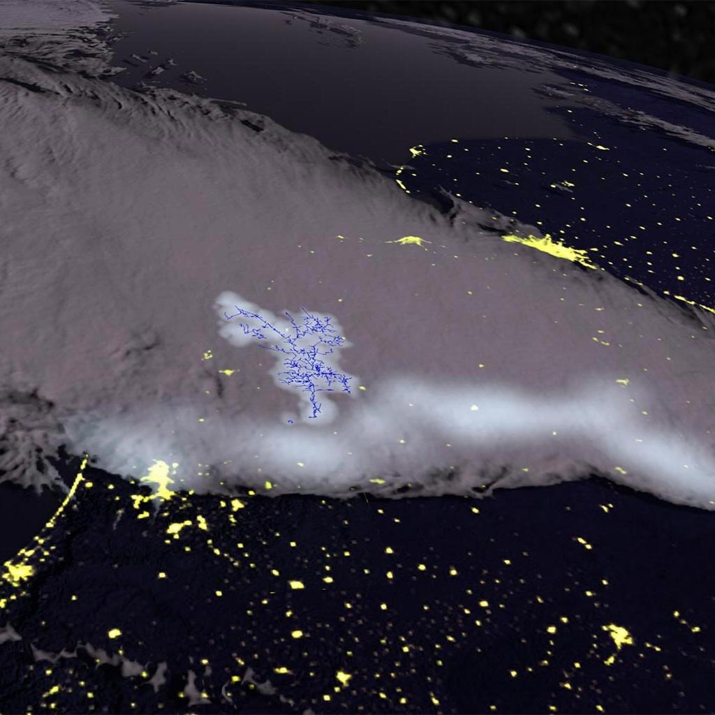 Record-breaking lightning as long as Kansas spotted