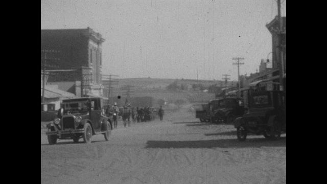 Rare 1920s Footage: All-Black Towns Living the American Dream
