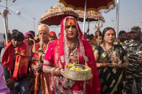 Transgender spiritual order finally finds acceptance at Hindu pilgrimage