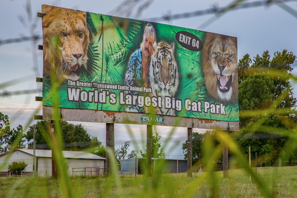 Court orders Joe Exotic's former zoo relinquished to Carole Baskin