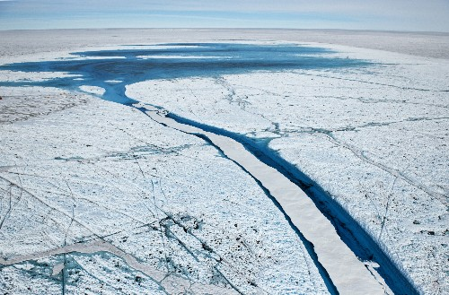 Giant Canyon Discovered Under Greenland Ice Sheet