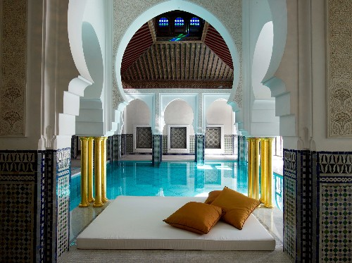 Finding the perfect soak in Marrakech