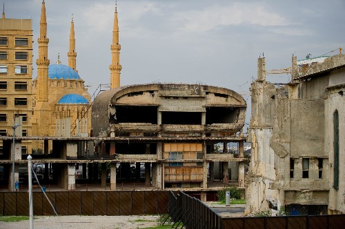 Ravaged by war, Beirut's historic sites are being reimagined