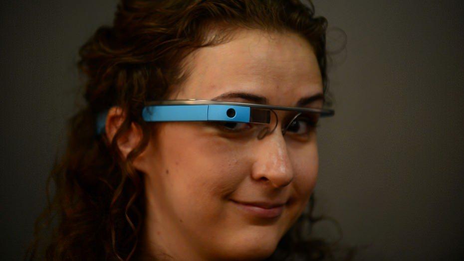 Google Glass - Magazine cover