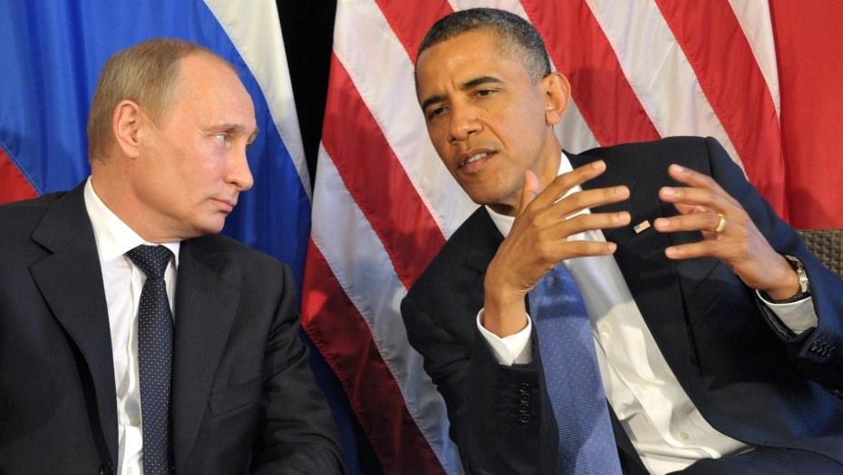 Obama Vs Putin - Magazine cover