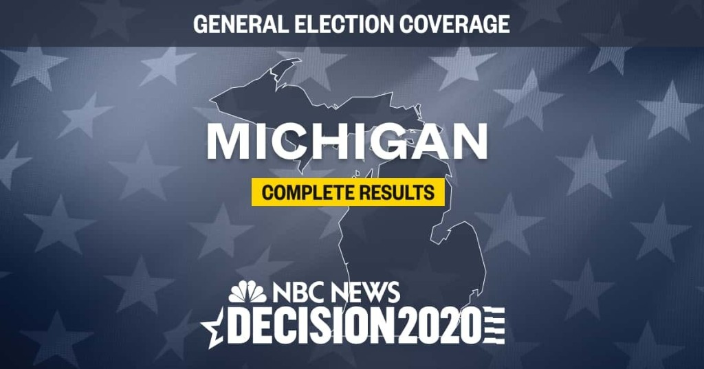 Michigan election results 2020: Live results by county