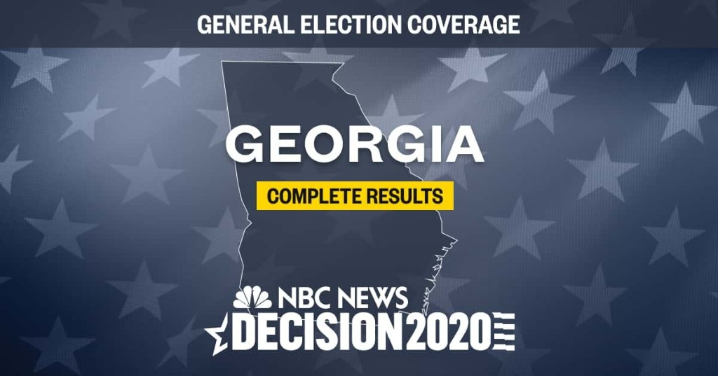Georgia election results 2020: Live results by county