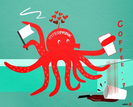 인터파크, 문어발식 확장 '제동'…커피전문점 사업 적자내고 접는다
