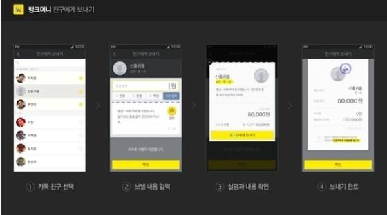 뱅크월렛카카오, 서비스 3주만에 가입자 50만 돌파