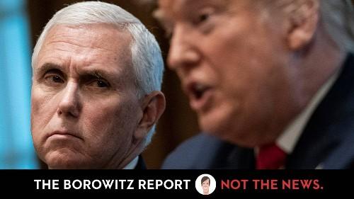 Trump Screams at Pence for Not Praying Hard Enough to Make Biden Lose