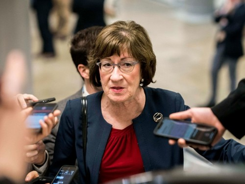 Susan Collins Takes Hours to Decide on Lunch Before Ordering Exactly What Mitch McConnell Is Having