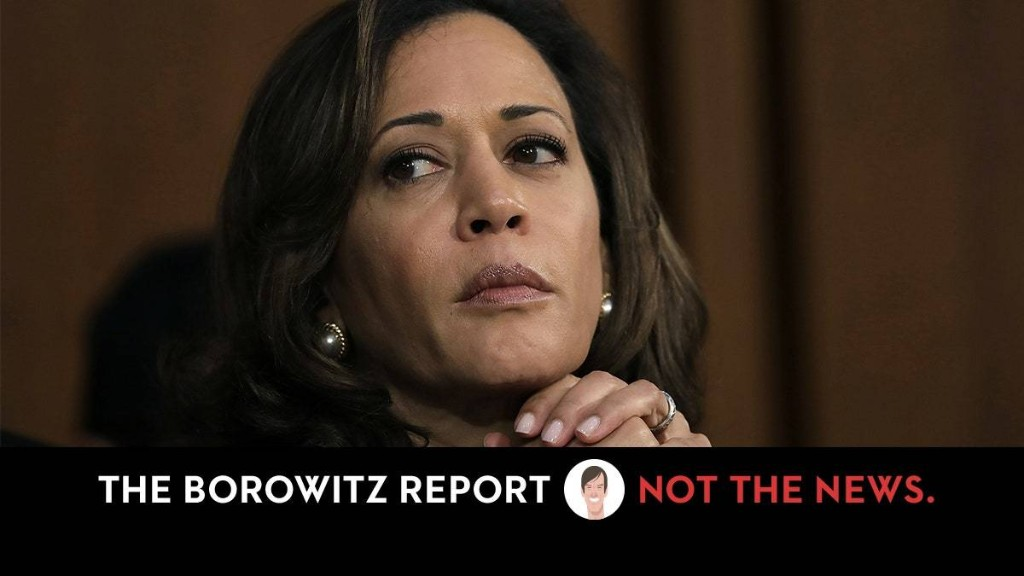 """Harris's Approval Rating Soars After Trump Reminds Nation How """"Nasty"""" She Was to Kavanaugh"""