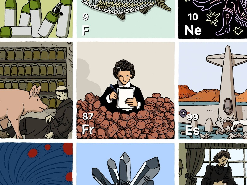 The Histories Hidden in the Periodic Table