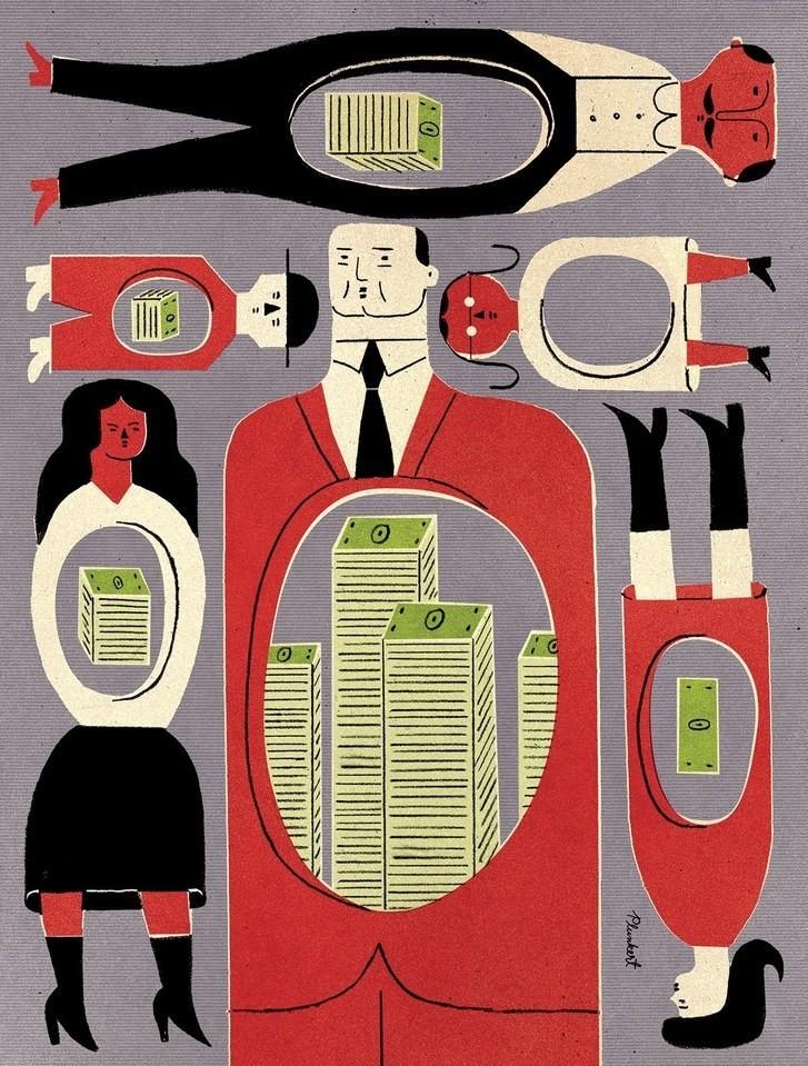 Poverty Inequality - Magazine cover