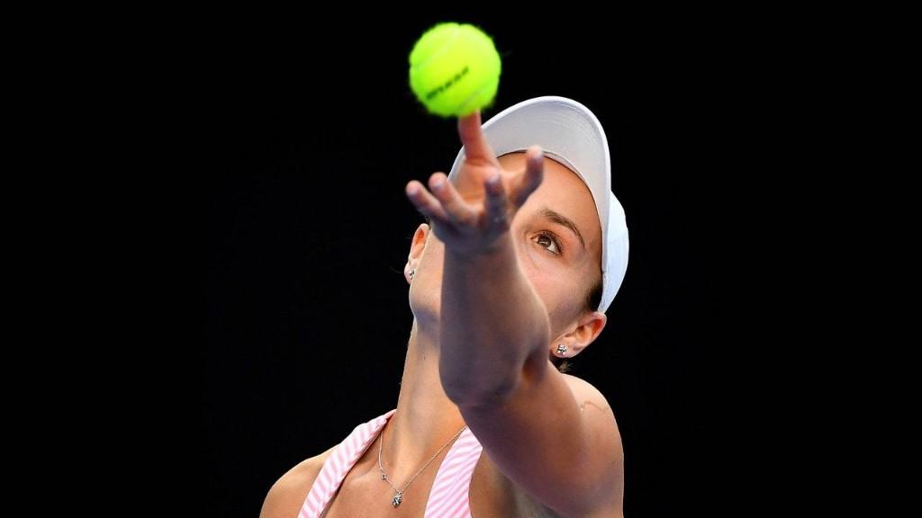 Ashleigh Barty, an Australian Tennis Hopeful with a Beautiful Game