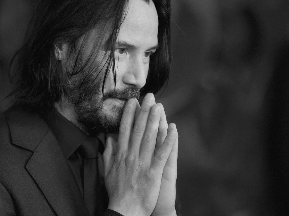 Keanu Reeves Is Too Good for This World