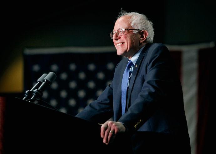 My Candidate: Bernie Sanders - Magazine cover