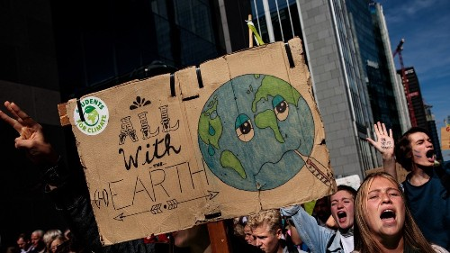 Watch Live: Greta Thunberg Leads the N.Y.C. Climate-Change Protest