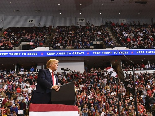 Trump Warns Republicans That If They Vote to Impeach He Will Campaign for Them Like He Did in Louisiana