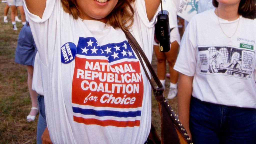 The Loneliness of the Pro-Choice Republican Woman