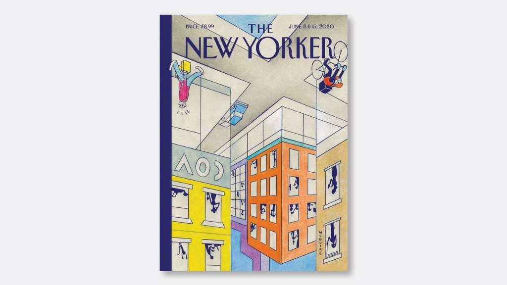 """Richard McGuire's """"This Side Up"""""""