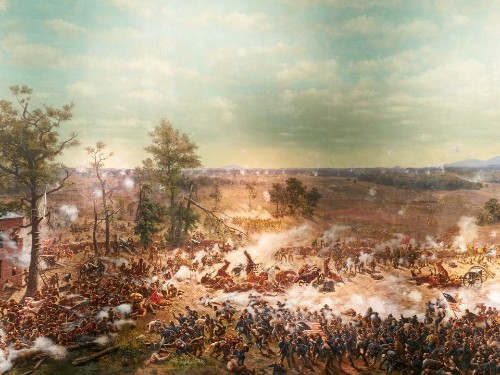 A Giant and Long-Contested Civil War Painting Returns to Its Former Glory