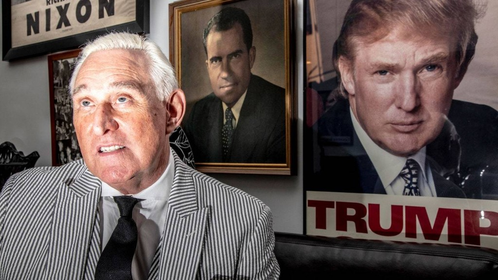 The Roger Stone Case Shows Why Trump Is Worse Than Nixon