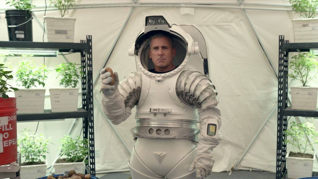 "In Netflix's ""Space Force,"" Steve Carell Is Stranded Between the Caustic and the Cutesy"