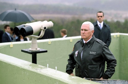 Trump Offers to Station Pence at Border with Binoculars in Lieu of Wall