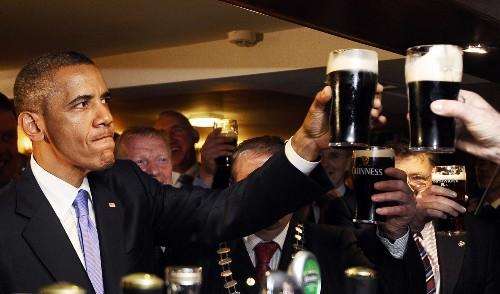 Rediscovering Obama's Irish Roots