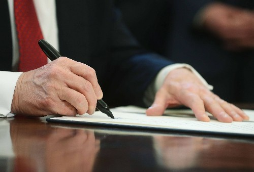Trump Signs Executive Order Giving Him Control of Weather
