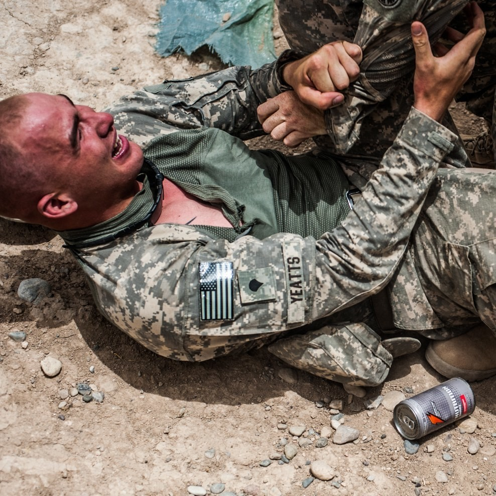 """""""Relentless Absurdity"""": An Army Photographer's Censored Images"""