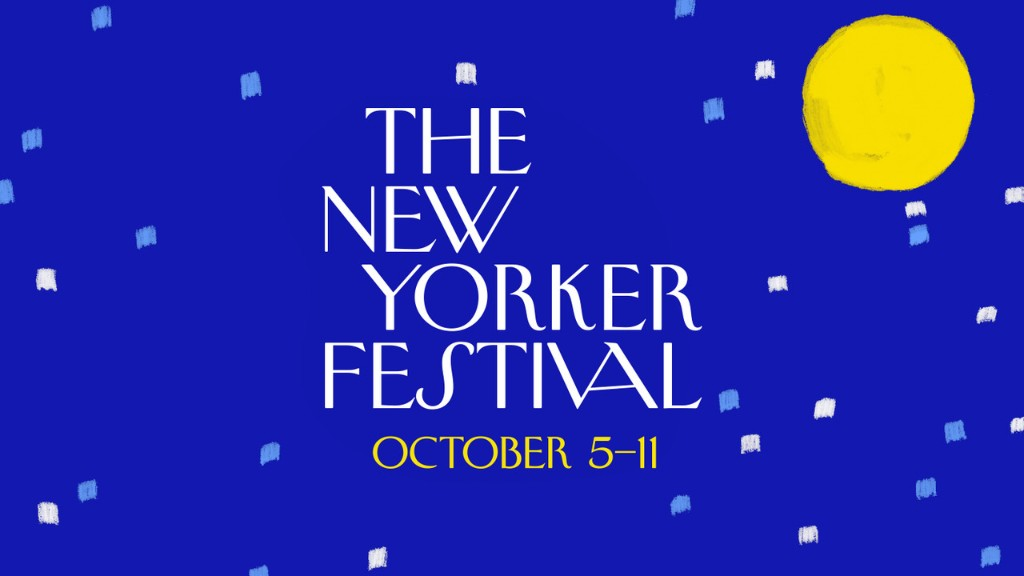 The New Yorker Festival Returns in Virtual Form, October 5th–11th