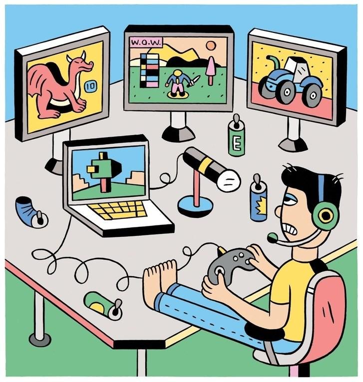 Work - Magazine cover