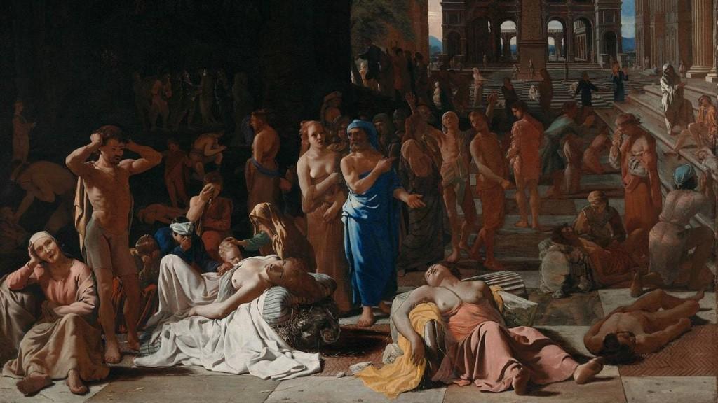 The Athenian Plague, a Cautionary Tale of Democracy's Fragility