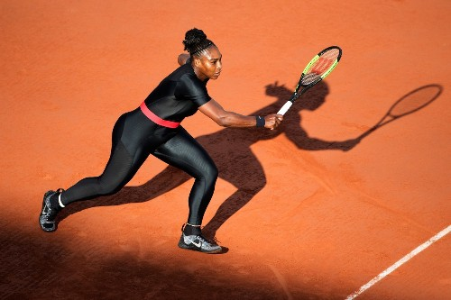 Serena Williams Departed the French Open, But Not Before Making a New Impression