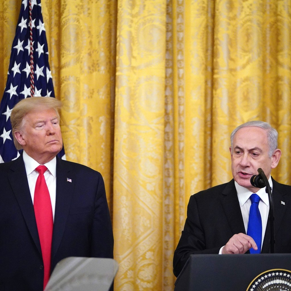 """Trump Unveils the """"Giveaway of the Century"""" on Middle East Peace"""