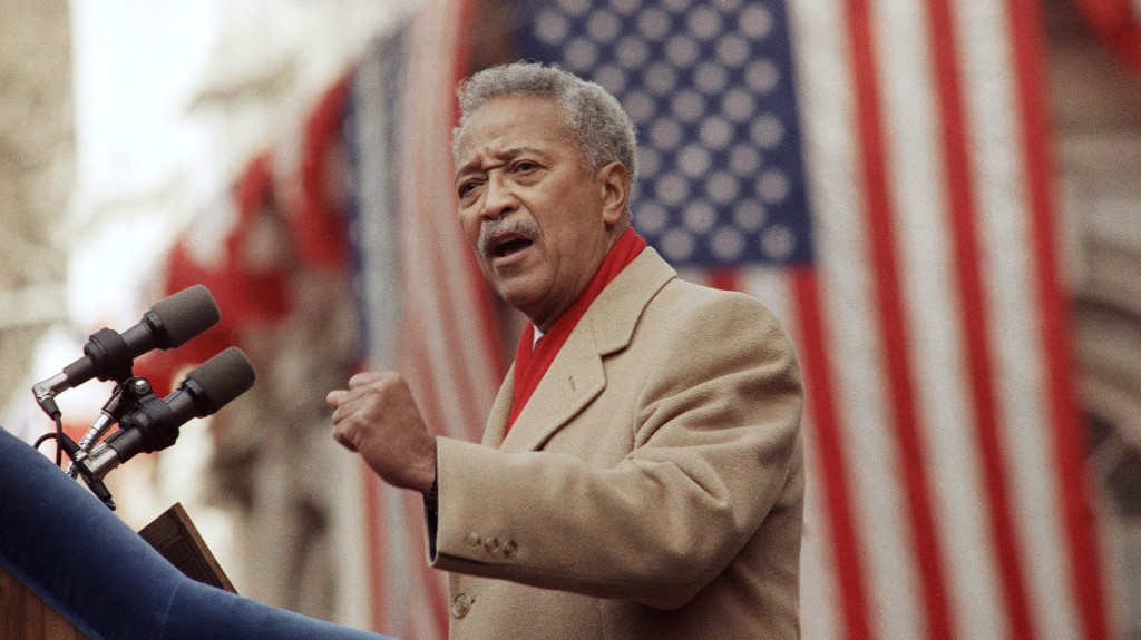 David Dinkins, New York City's First Black Mayor, Dies At 93