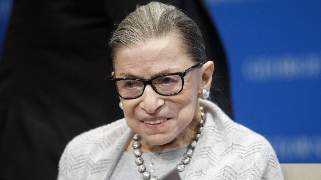 Justice Ginsburg Honored At The Supreme Court