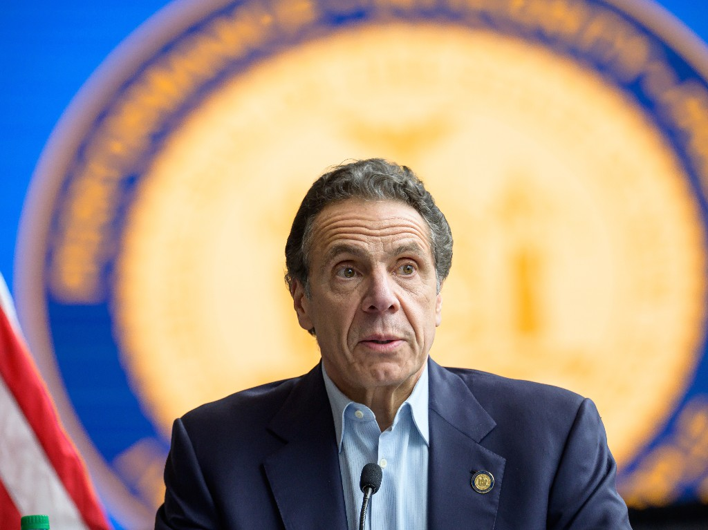 New York Gov. Cuomo Reports A Drop In Number Of Deaths, But Warns It May Be A 'Blip'