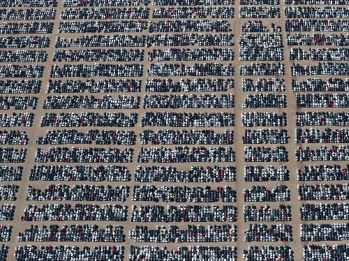 Why 300,000 Volkswagens Are Being Stored In These Massive Auto Boneyards