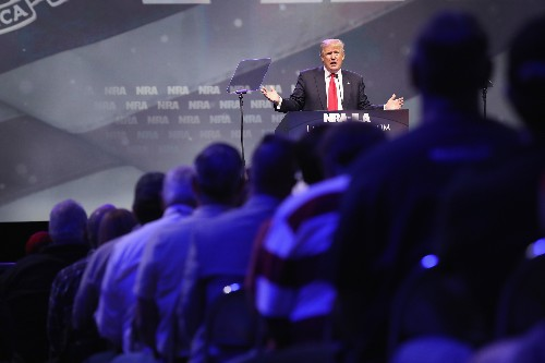 Trump Pledged To Take On The NRA; Now He's Speaking At Group's Annual Convention