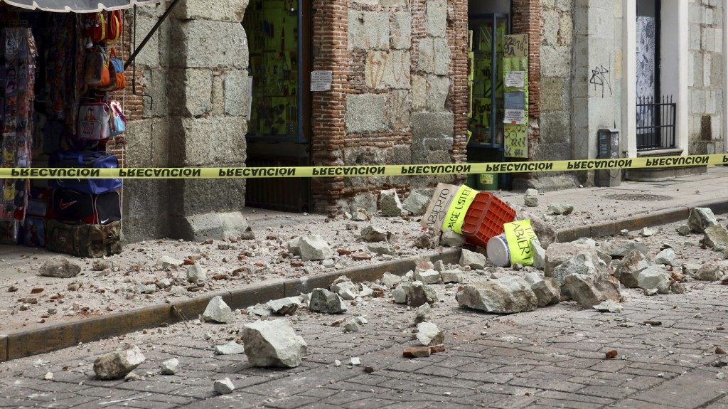 Deadly Earthquake Rattles Southern Mexico