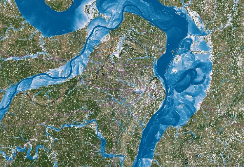 Flood Maps Can Get Much Sharper With A Little Supercomputing Oomph