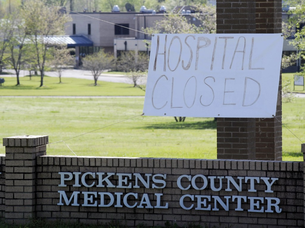 Small-Town Hospitals Are Closing Just As Coronavirus Arrives In Rural America
