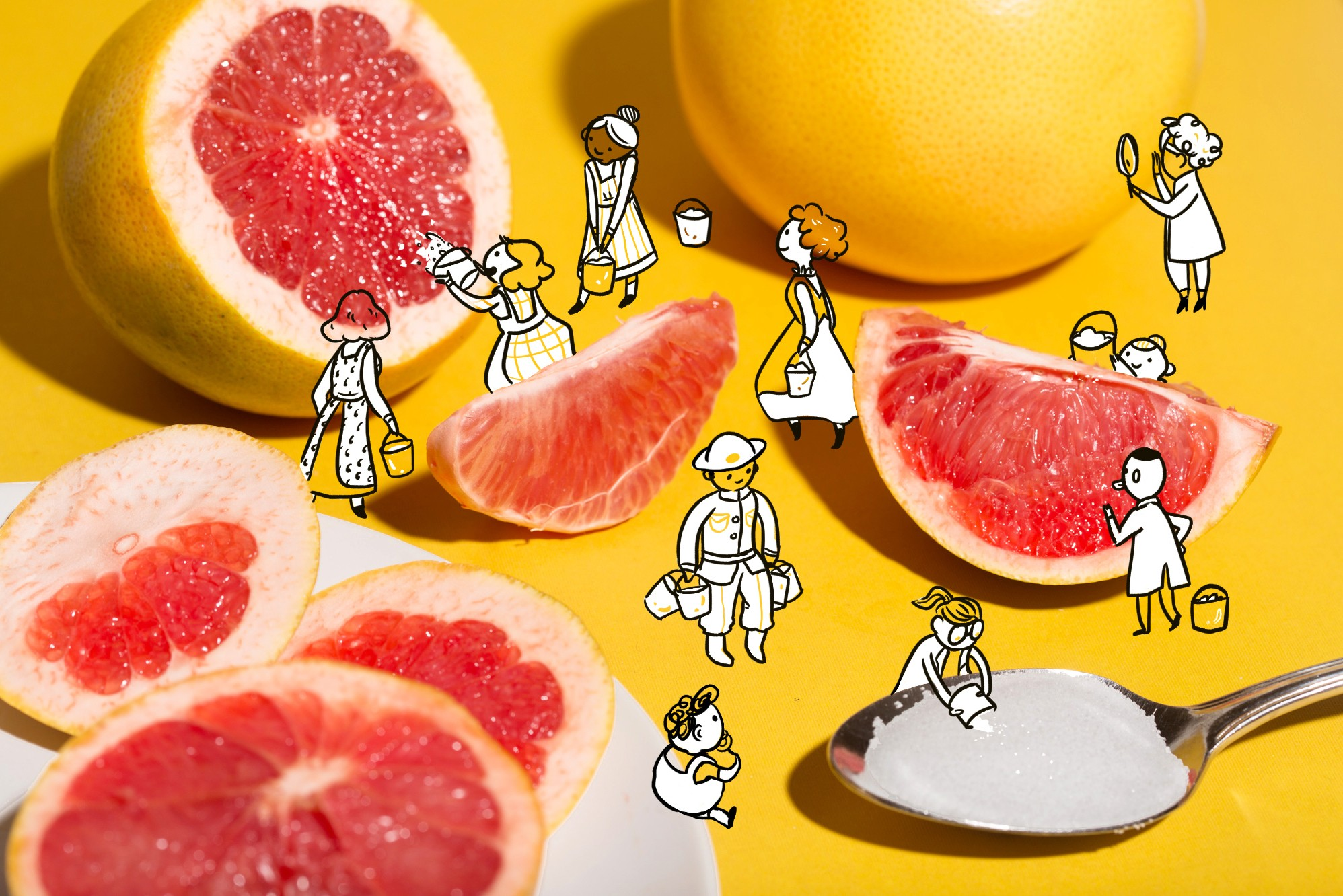 Grapefruit And Salt: The Science Behind This Unlikely Power Couple